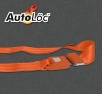2 Point Orange Lap Seat Belt  (1 Belt)