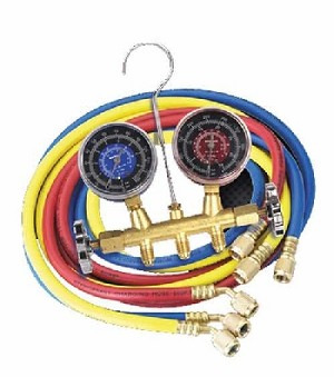 "R134a Service Manifold and 72"" Hose Set CP7806"