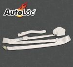 3 Point Retractable Off White Seat Belt (1 Belt)