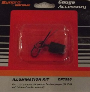 Mini Gauge Illumination Kit 12 V CP7593