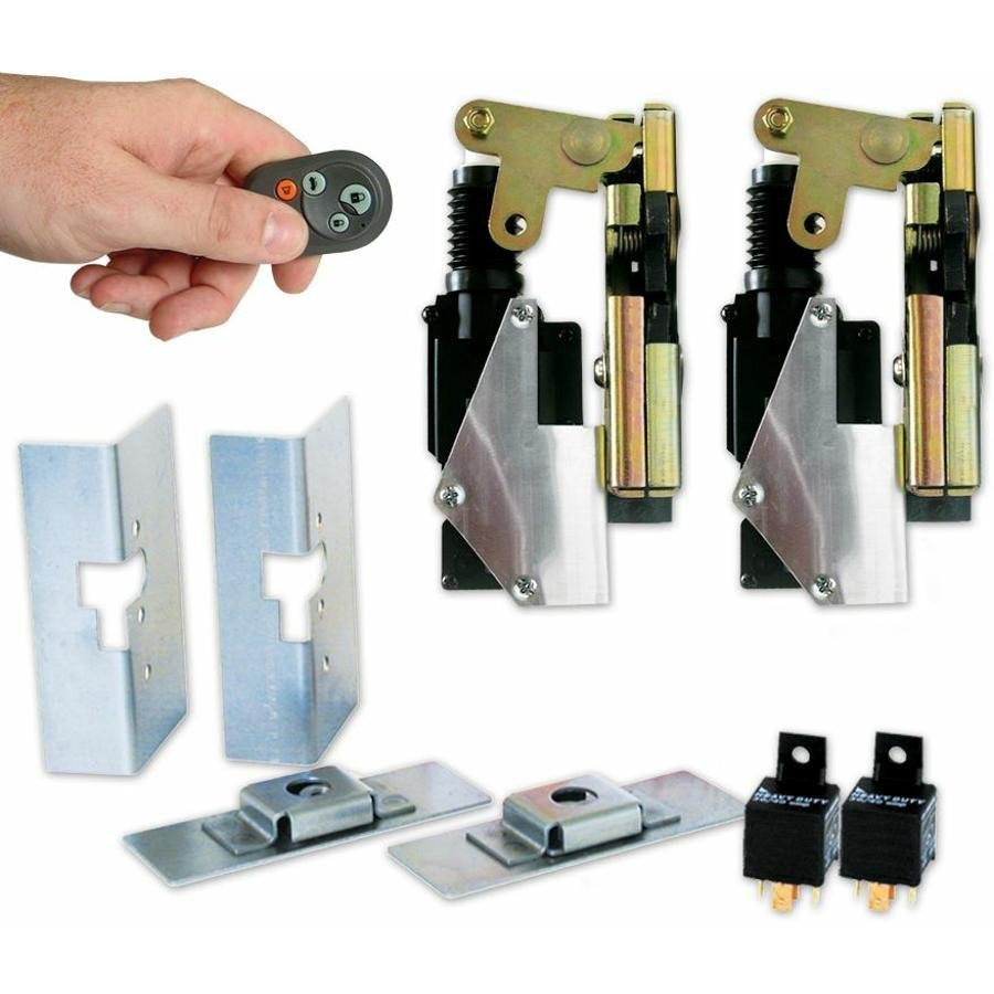 Small Power Bear Claw Door Latches with Remotes