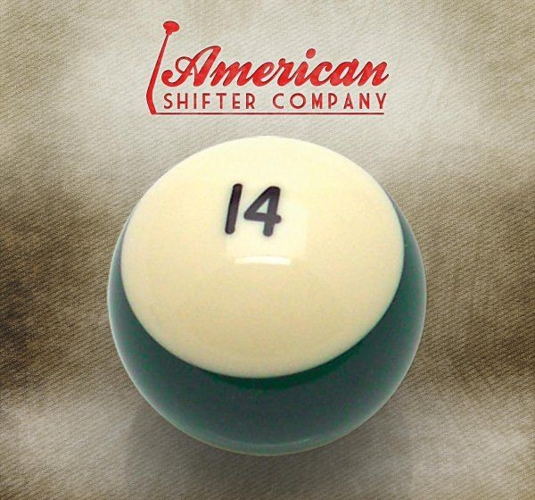 14 Ball Billiard Pool Custom Shift Knob