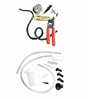 Automotive Vacuum Pump, Brake Bleed Kit CP7835